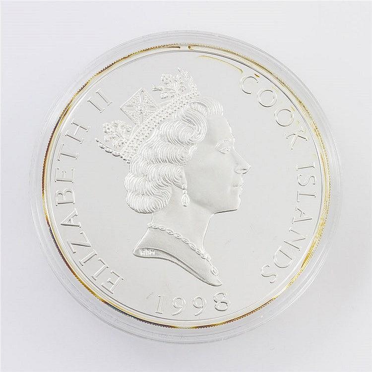 Cookinseln - 25 Dollars 1998, Olympische Spiele 2000, Short Triathlon,