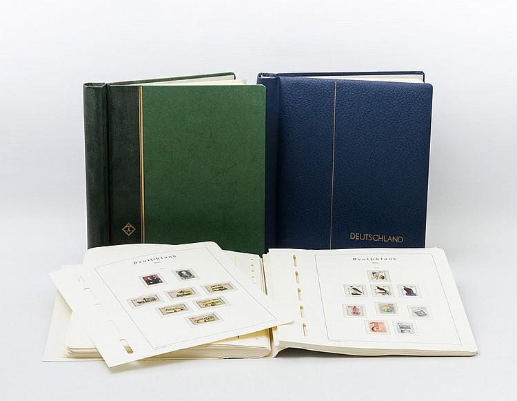 BRD - Postfrische Sammlung mit einigen guten Anfangsausgaben. Posthorn bis 30 Pfennig.