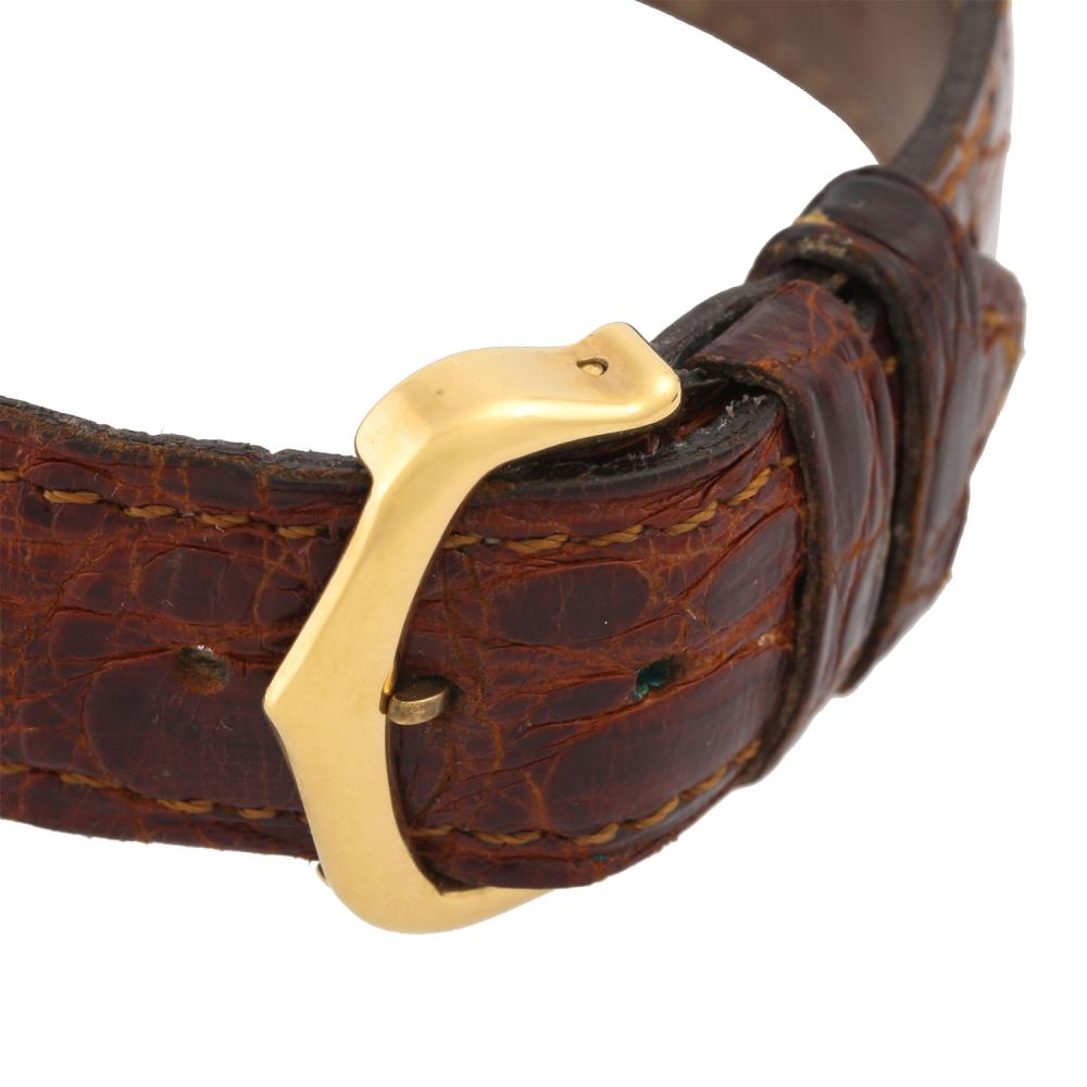 CARTIER VintageTank Vermeil, Ref. 590005. Armbanduhr.