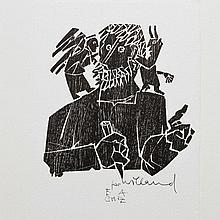 """WILLAND, DETLEF (1935): """"Selbst mit Engel und Teufel"""", 1990,"""