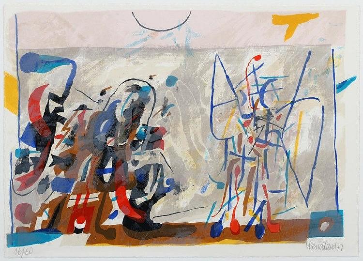 WENDLAND, Gerhard (1910-1986), 'Ohne Titel', 1977.