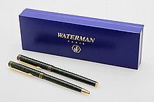 WATERMAN elegantes Schreibset bestehend aus Füller und Kugelschreiber.