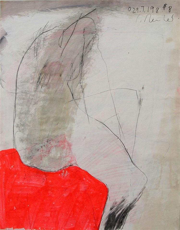 REUTER, SABINE (1953-2003): Abstrakter Frauenakt,1988,