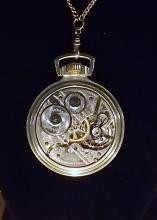 Hamilton railroad watch 992B serviced