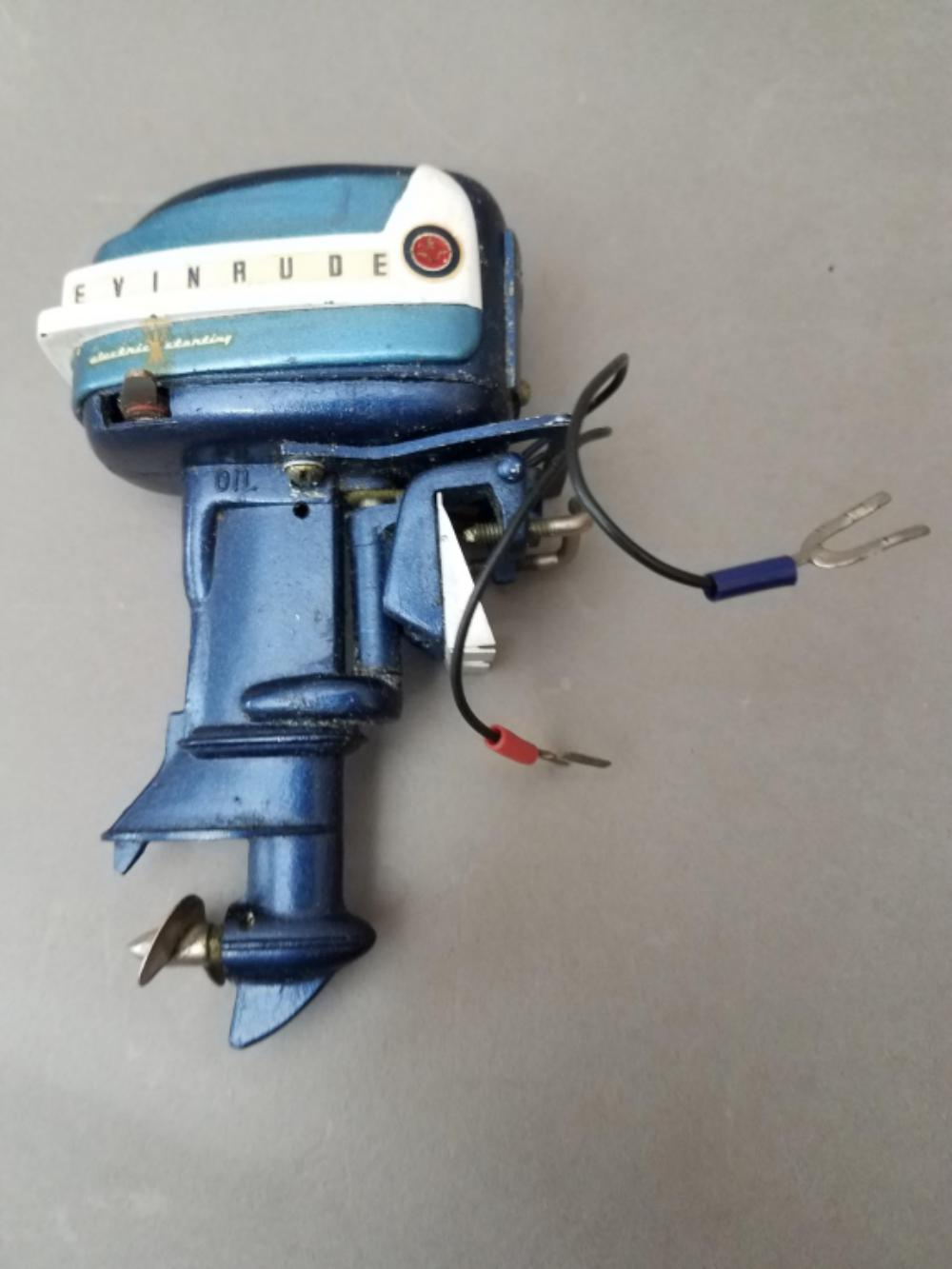 Vintage Evinrude Big Twin Toy Outboard Motor