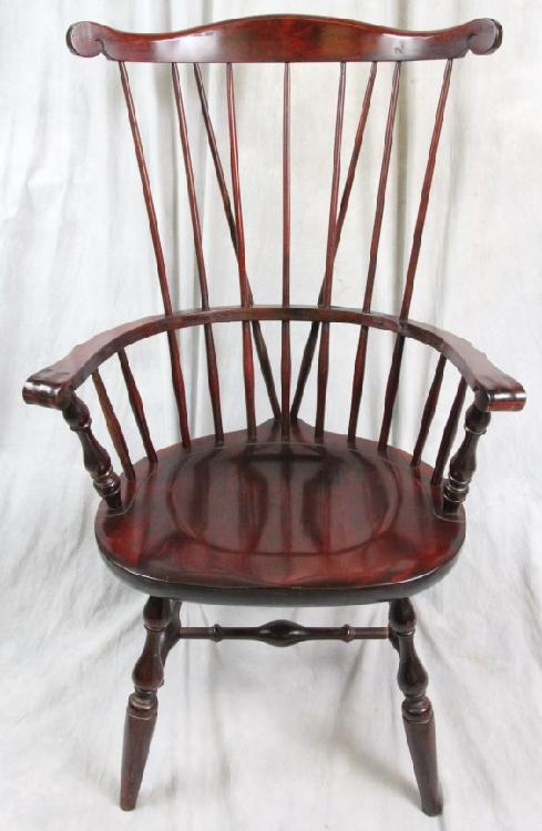 L269 NICHOLS STONE BRACE BACK FAN BACK WINDSOR CHAIR : H4173 L27215110 from www.invaluable.com size 489 x 750 jpeg 46kB
