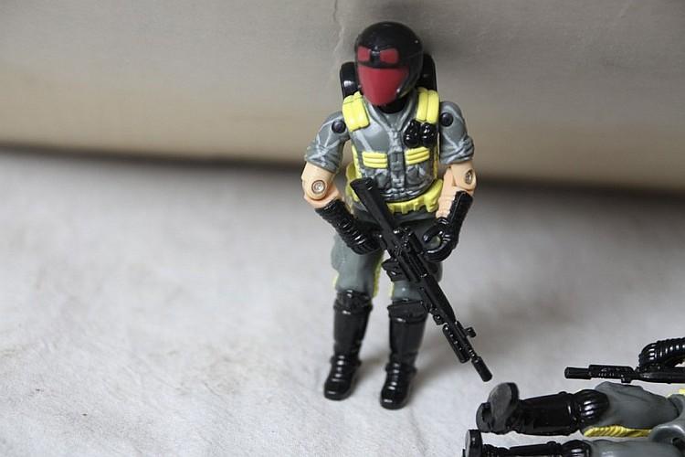 Gi Joe Retaliation Cobra Données Viper avec mini drone loose//complete *