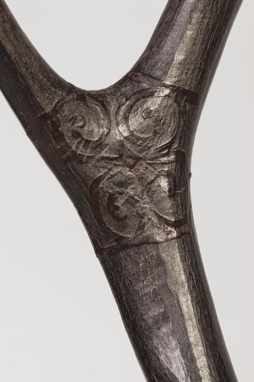 Figuration d'un cerf couché