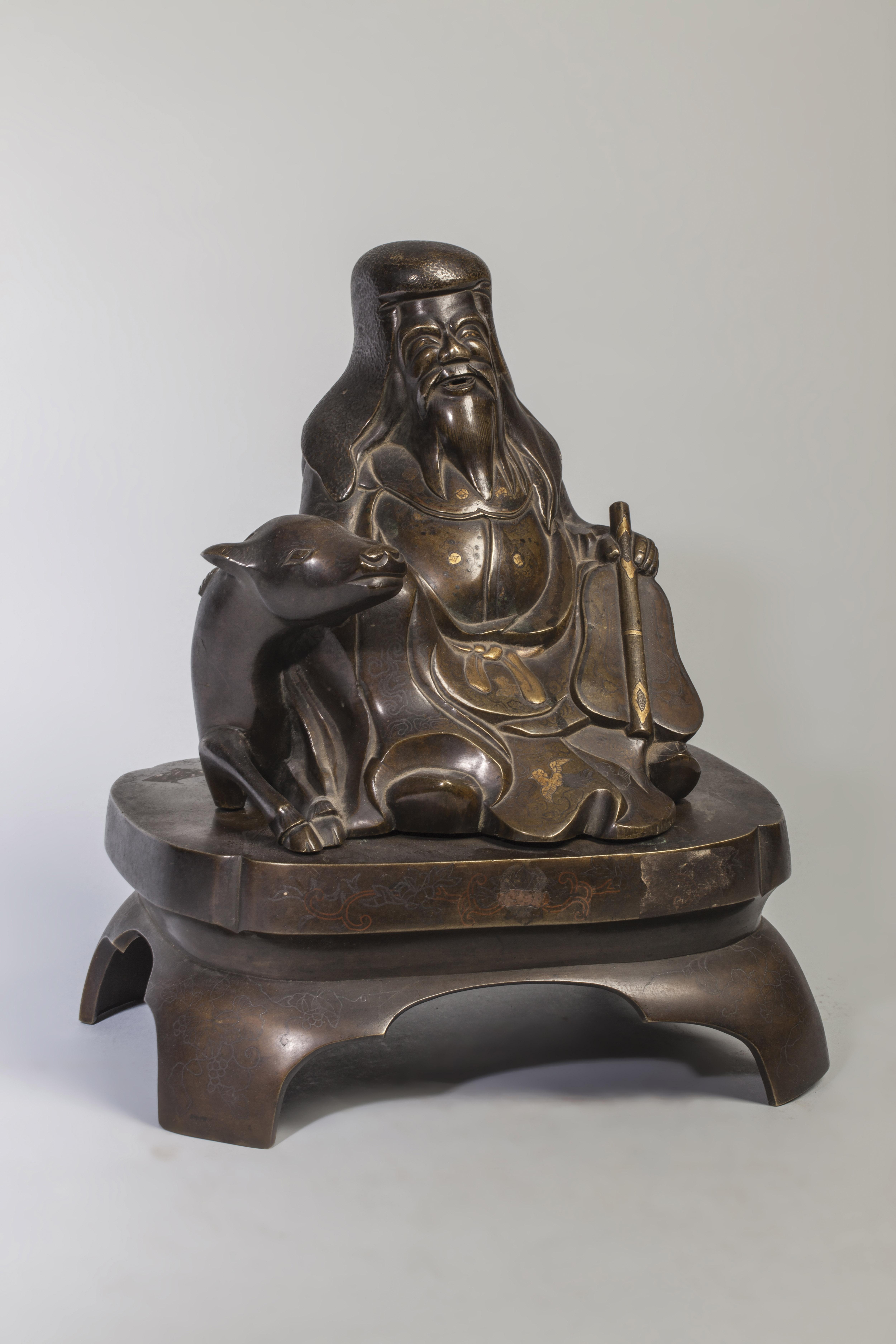 Figuration d'un sage taoïste