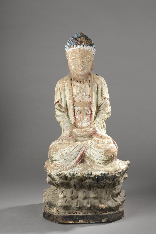 Buddha assis