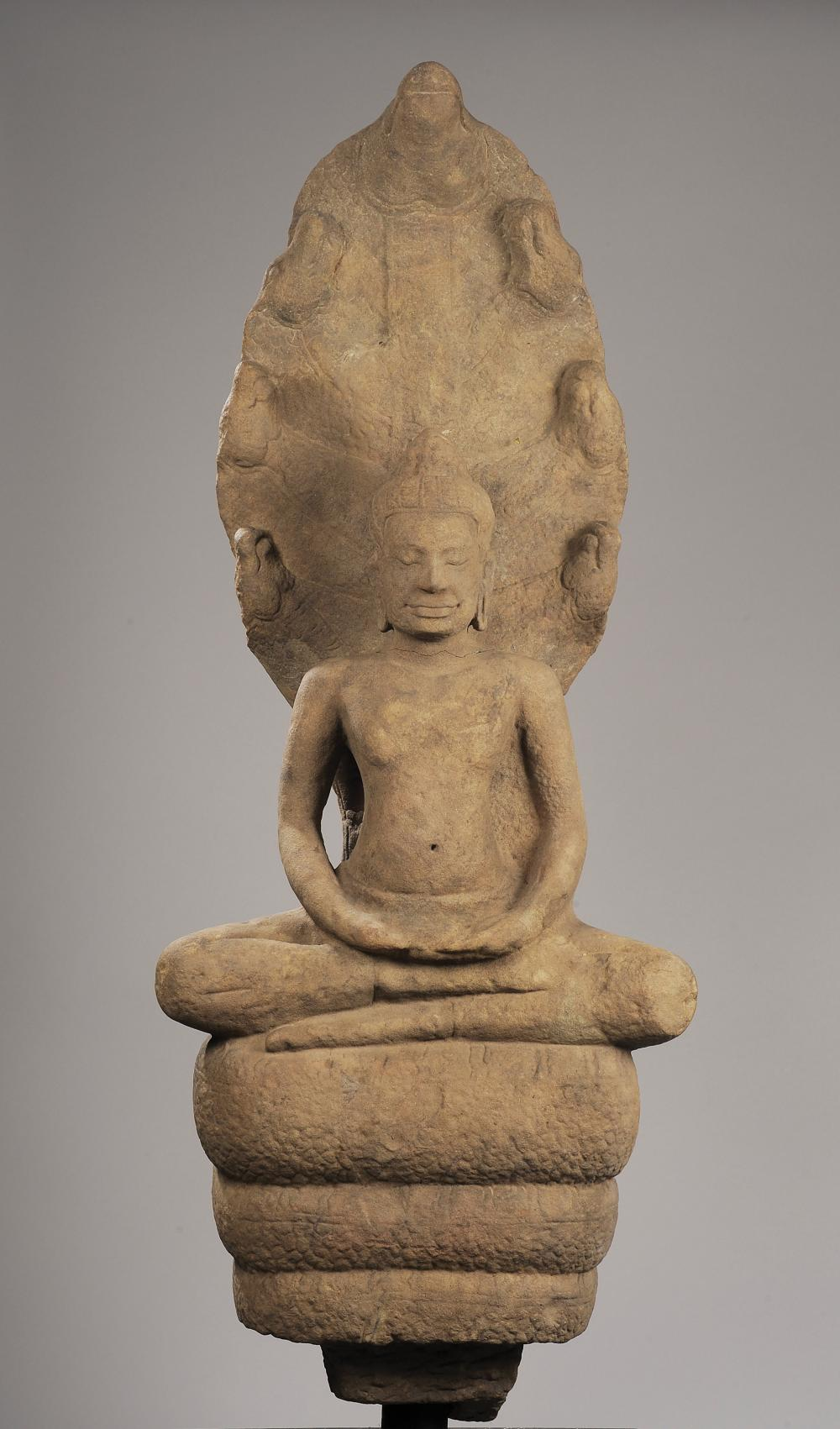 Important Bouddha Mucilinda
