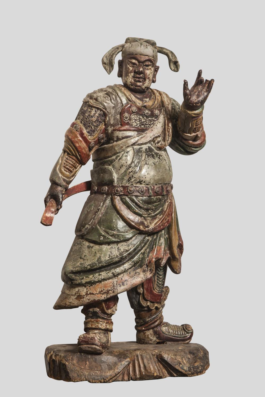 Guan Di ( ou Guan Yu ) Seigneur de la guerre, protecteur de la loi et de la justice dans les monastères Bouddhiques