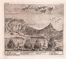 5 COPPER ENGRAVINGS OF THE CAPE