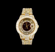 Rolex 18KT Gold President Diamond Day-Date Men's Watch