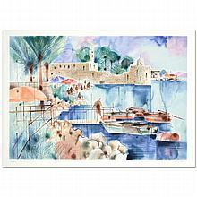 Sea of Galilee by Shmuel Katz (1926-2010)