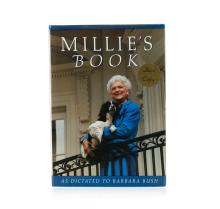 Signed Copy of Millie's Book by Barbara Bush