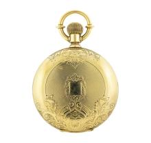 Antique Illinois Watch Co. Pocket Watch - 18KT Yellow Gold