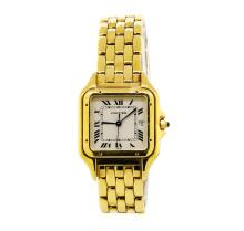 Cartier 18KT Yellow Gold Panthere Watch