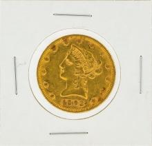 1892 $10 XF Liberty Head Eagle Gold Coin