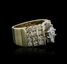 14KT Yellow Gold 1.00 ctw Diamond Ring