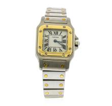 Cartier Stainless Steel Santos Ladies Watch