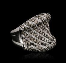 18KT White Gold 1.92 ctw Brown Diamond Ring