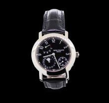 Patek Philippe Moonphase 18KT White Gold Watch