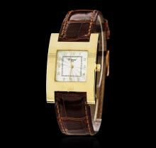 Chopard 18KT Yellow Gold H Square Watch