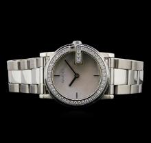 Gucci Stainless Steel Diamond Ladies Watch