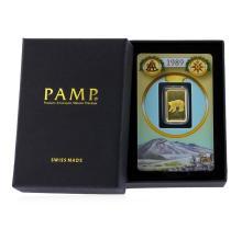 PAMP 5 Gram Gold Bar 999.9 Fine Gold