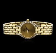 Concord 14KT Yellow Gold Diamond Ladies Watch