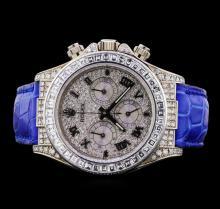 Rolex Daytona 18KT White Gold Watch