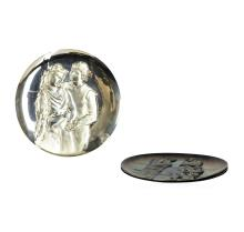 Three Tribute to Picasso Silver Plates from the Hamilton Mint