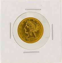 1902 $5 Liberty Head Half Eagle Gold Coin