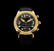 Corum 18KT Yellow gold Bubble Chronograph Men's Watch