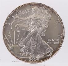 2004 American Silver Eagle Dollar Coin