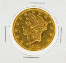 1878-S $20 XF Liberty Head Double Eagle Gold Coin