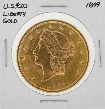 1899 $20 Liberty Gold Coin