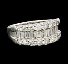 2 ctw Diamond Ring - Platinum