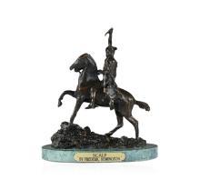 Scalp Bronze Replica By Frederic Remington