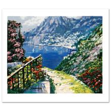 The Road to Positano by Behrens (1933-2014)