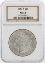 1884-O NGC MS64 Morgan Silver Dollar