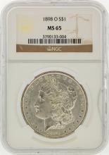 1898-O NGC MS65 Morgan Silver Dollar