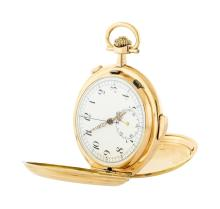 Antique Repetition Chronograph Pocket Watch - 18KT Rose Gold