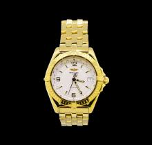 Breitling 18KT Yellow Gold Wings Men's Watch