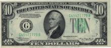 1934-A $10 Choice Circulated Federal Reserve Note
