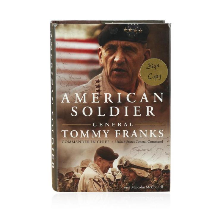 Signed Copy of American Soldier by Tommy Franks