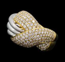 2.06 ctw Diamond Ring - 18KT Yellow Gold