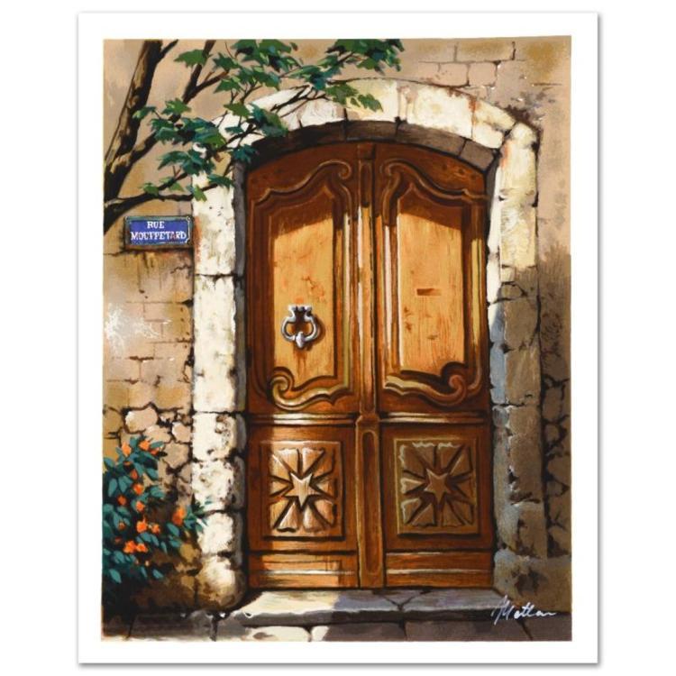 Rue Mouffetard by Anatoly Metlan