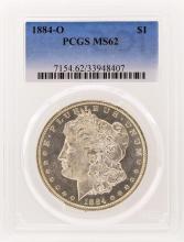 1884-O PCGS MS62 Morgan Silver Dollar